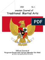 Indonesian Journal of Traditional Martial Arts (IJTMA) 2010; Vol. 1 No.1