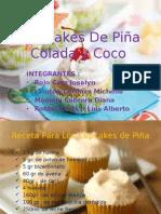 Cupcakes de Piña Colada y Coco00