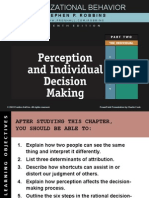 Chapter 5 Perception & Individual Decision Making