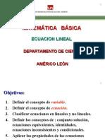 Ecuaciones y Resolucion de Ecuaciones (1)