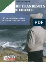 Mehdi SAYED - Ma Vie de Clandestin en France