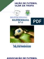 Boletim Semanal Nº17