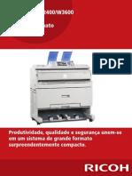 Catálogo Ricoh MP W2400-MP W3600