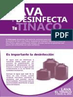 Lava y Desinfecta Tu Tinaco