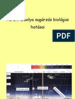 Az Ultraibolya Sugárzás Biológiai Hatása