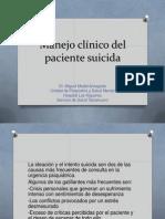 Manejo Clinico. Dr. Medel
