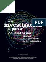 La investigación a partir de historias. Manual para periodistas de investigación