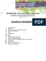 Bulletin of Information