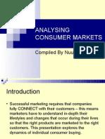 Analysing Consumer Markets