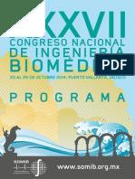 Programa Congreso de Biomedicina