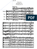 Tchaikovsky Serenade for Strings