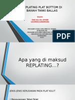 Replating Plat Bottom Kapal