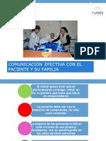 Comunicación Efectiva Con El Paciente y Su Familia
