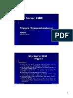 SQL Server 2000 - 12 Triggers (Desencadenadores).pdf