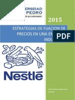 Nestle Trabajo Julio