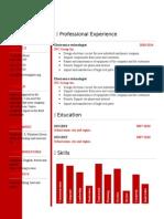 Free Cv Resume Template 02