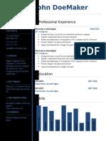 Free Cv Resume Template 03