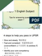 Bahan Ceramah Bahasa Inggeris Sekolah Cina