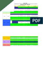 Final Term Date Sheet