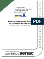 M+¦dulo I APOSTILA I SENAC  ASPECTOS FONOAUDIOL+o_GICOS