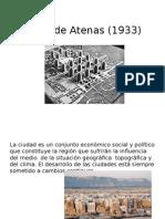 Carta de Atenas y Machu Pichu