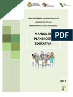 Manual Planeacion 2012