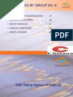 SME Rating Agency PPT
