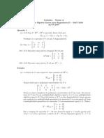 Álgebra Linear II - P2 - 2007