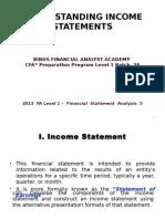 2013 CFA Lvl1 FSA_3 - Understanding_IS.ppt