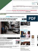 1 Em Cada 3 Brasileiros Já Comprou Contrabando, Aponta Datafolha - 25-05-2015 - Mercado - Folha de S