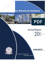 Annual Report of CPRI 2013-14
