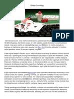 Online Gambling 200