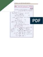 تصحيح الامتحان الوطني الموحد للبكالوريا مادة الرياضيات الدورة العادية 2015 شعبة العلوم التجريبية و التكنولوجية
