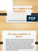 Diseño Curricular Nacional Ed.fisica