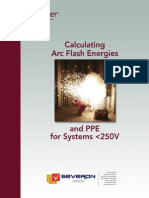 03 - Calculating Arc Flash Energy for Systems Upto 250V