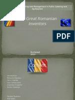 Top 10 Great Romanian Inventors
