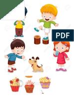 Niños y Carteles de Periodico (1)