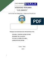 Monografía de Derecho de Minería