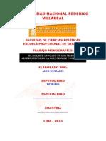 Monografia El Rol Del Abogado en Los Medios Alternativos en La Solución de Conflictos