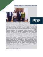 Parlamento Mercosur expresa su apoyo a la institucionalidad democrática en el Ecuador
