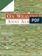 On Weaving - Anni Albers