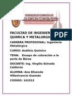 Informe 3 de Analisis quimico