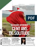 Libération du Vendredi 24 Avril 2015