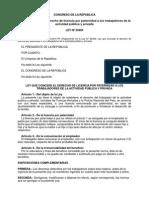 5 Ley 29409 y Reglamento Licencia Paternidad