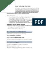 Intel Smart Response Technology User Guide 3