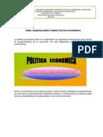 Analisis Economico y Politicas Economica 2014-01