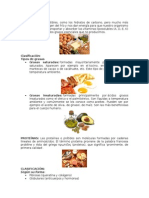 Clasificación Alimentos.. Grasas, Proteínas, Minerales,Etc Linch