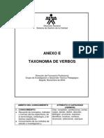 Taxonomia verbos
