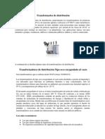 Transformador y Subestaciones de Distribución