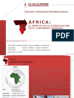 El Impacto de La Globalzacion en El Continente Olvidado (Africa)